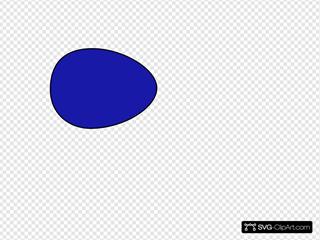 Solid Blue Egg