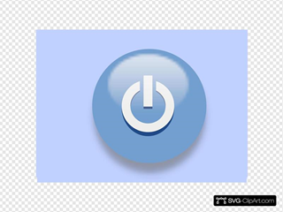 Blue Exit Button 2
