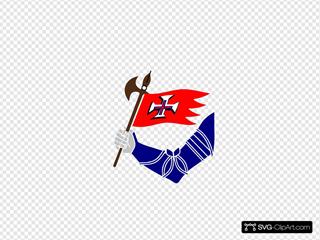 Arm With Flag