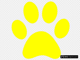 Blues Clues Yellow Paw