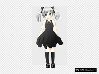 Paulliu Girl With Silver Hair