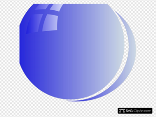 Lite Blue Bubble Circle