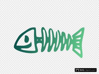 Happy Fish Bone