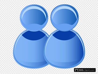 Two Users Icon