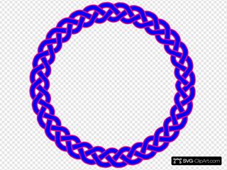 Blue & Pink Celtic Knot