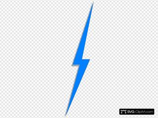 Blue Lightbolt