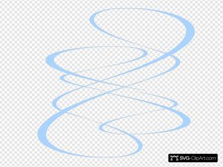 Maroon Curve Lines