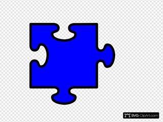 Blue Jigsaw