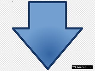 Little-blue-down-arrow