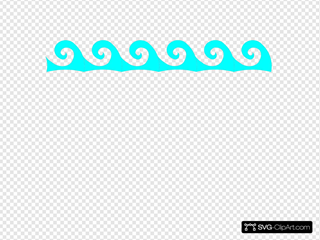 Cora Turquoise Waves