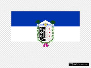 Flag Of La Araucania Chile
