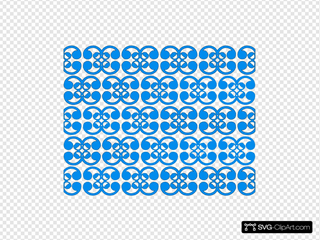 Thai Blue Pattern