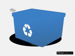 Secretlondon Empty Recycling Box No Words