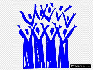 333 Sopranos In Blue