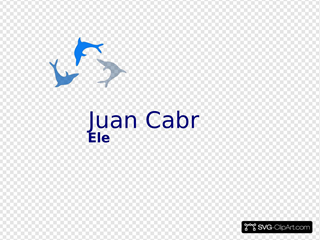 Blue Color Arial