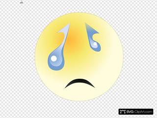 Crying Face Png - Crying Boy Clip Art, Transparent Png - kindpng