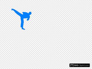 Blue Karate