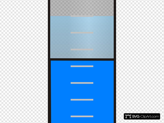 Falcon Test Tube With Blue Nutrient Media