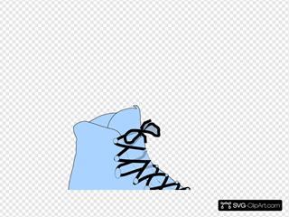 Light Blue Boot