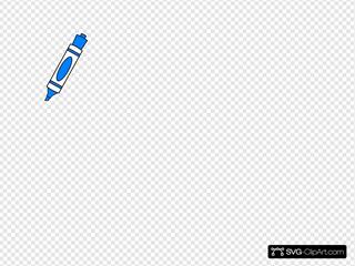 Blue Color Marker