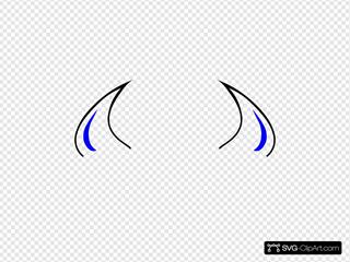 Blue Devil Horns