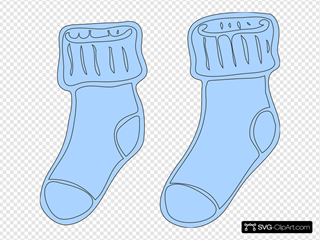 Socks  SVG Clipart