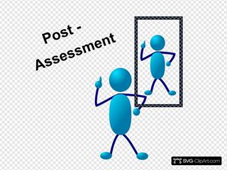 Blue Stick Man Post Assessment