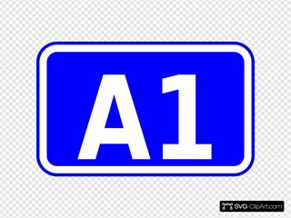 A1 Road Sign