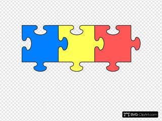 Puzzle Piece Top SVG Clipart