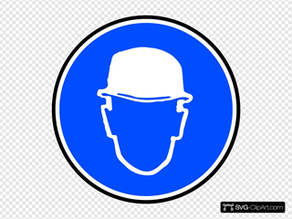 Mantatory Hard Hat Over Head