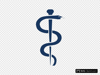 Rod Of Asclepius Upright