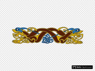 Celtic Border Design
