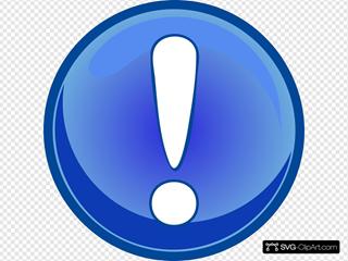 Error Tasto Architetto Fran Mod Blue Clipart