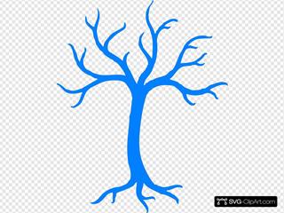 Blue Dead Tree