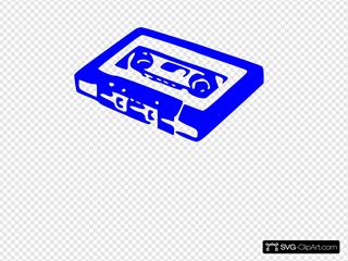 Cassette Dark Blue