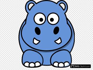 Blue Hippo Animated