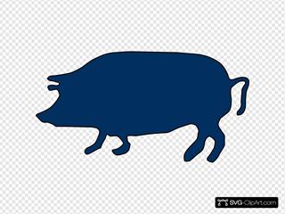 Pig  SVG Clipart
