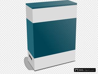 Software Carton Box With No Text