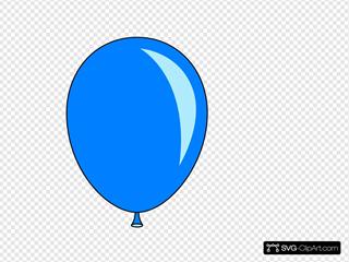 New Blue Balloon