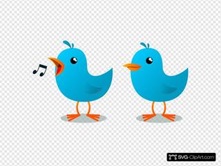 Twitter Bird Mascot