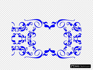 5swirl Dmask Monogram 2 SVG icons