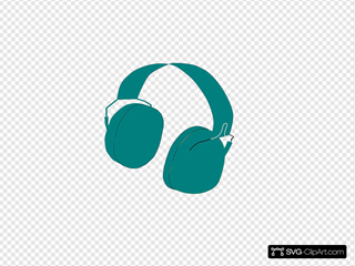 Headphone SVG Clipart
