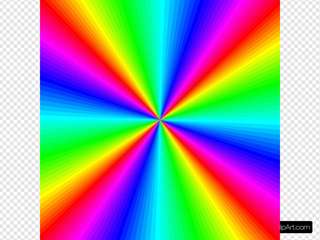 Rainbow Color Square