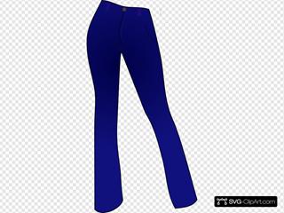 Women Clothing Blue Jeans