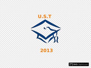 Ust Class Of 2013 Graduation Cap