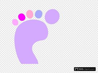 Girl Footprint