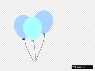 Emmas Blue Balloons
