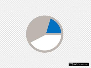 Chart Blue Gray