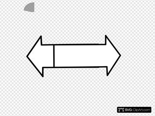 Blue Bidirectional Arrows Svg Vector Blue Bidirectional Arrows Clip Art Svg Clipart