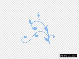 Blue Clip arts